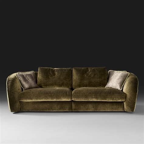 Designer Sofas by Italian Designer Velvet Modular Sofa