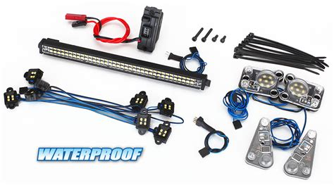 come funzionano le lade a led kit waterproof per trx 4 defender traxxas