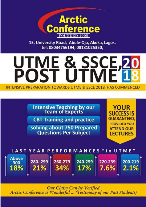 post utme tutorial recommended tutorial center for jamb utme 2018 to assist
