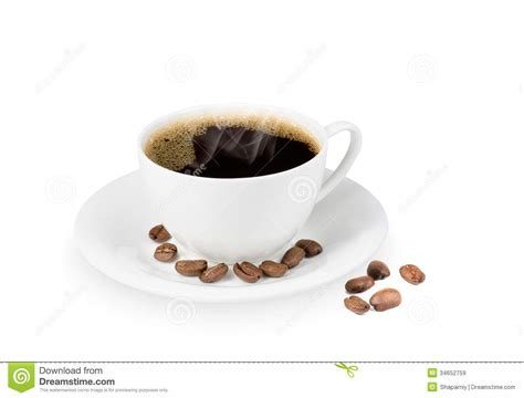 Papa Bean White Coffee coffee cup and coffe bean stock image image of drink