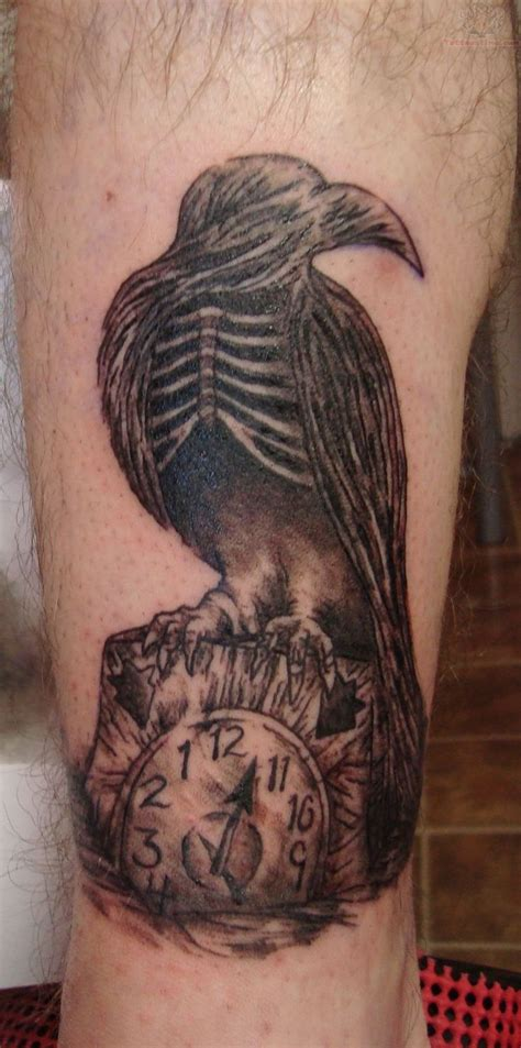 bones tattoo designs 25 best crows images on
