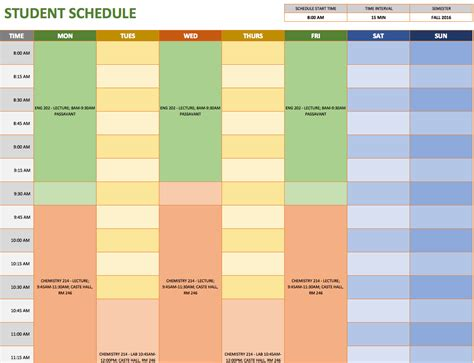 Schedule Spreadsheet Template Spreadsheet Templates For Business Schedule Spreadshee Time Schedule Template