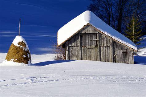 White Barn Candle Winter Cabin by Fotos Gratis Paisaje Naturaleza Bosque Monta 241 A Nieve