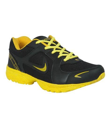 buy hm evotek mens sports shoes black yellow for