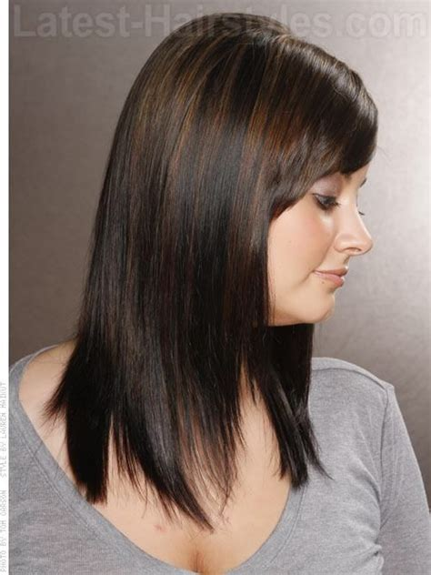 lowlights in short black hair lowlights for dark hair with brown highlights 11