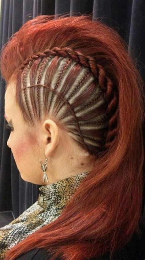 shaved hair with plaits 45 fantastic braided mohawks to turn heads and rock this