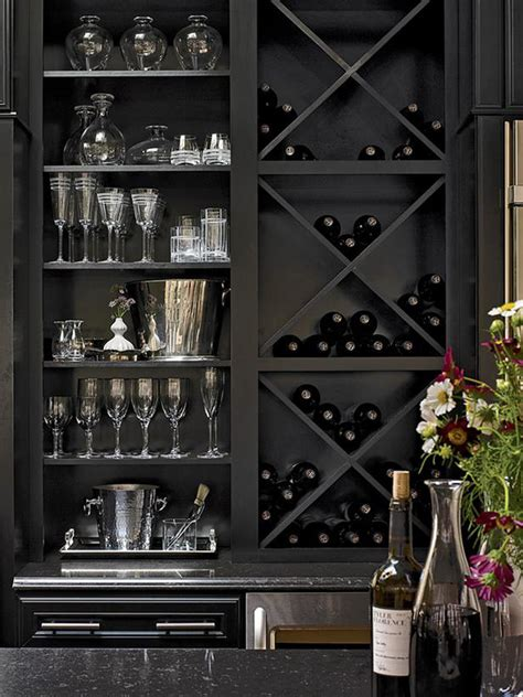 home bar and wine cabinet home bar design