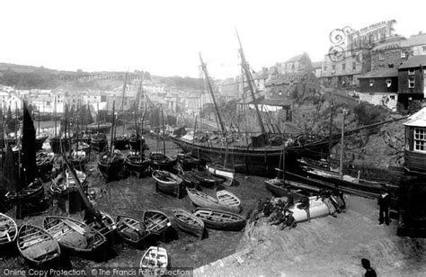 a history of mevagissey books mevagissey inner harbour 1890 francis frith