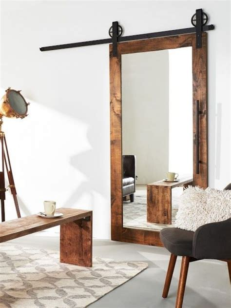21 Home Decor Risks That Are Totally Worth Taking Mirrored Sliding Barn Door
