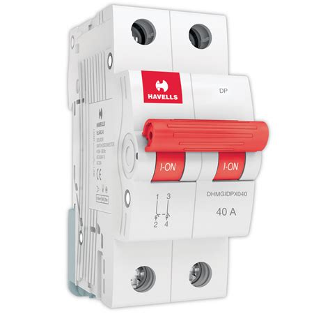 capacitor switching in circuit breaker isolator dp 40a