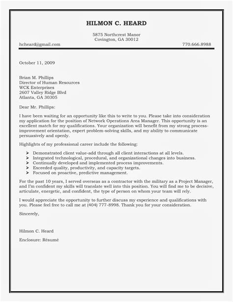 Resume Cover Letter Header How To Write A Business Letter Heading Cover Letter Templates