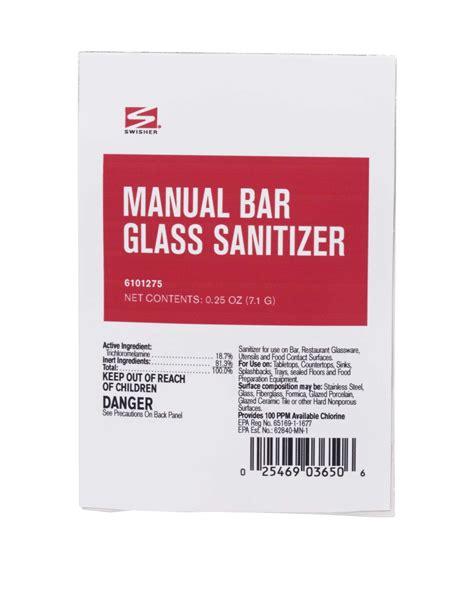 Swisher Bathroom Supplies by Swisher Manual Bar Glass Sanitizer