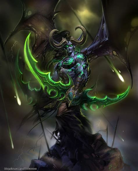 world of warcraft illidan 1785652419 illidan world of warcraft games art brother most powerful and the burning