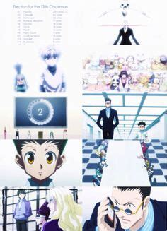 hunter x hunter election arc jpg hunter x hunter on pinterest hunters anime and forget you