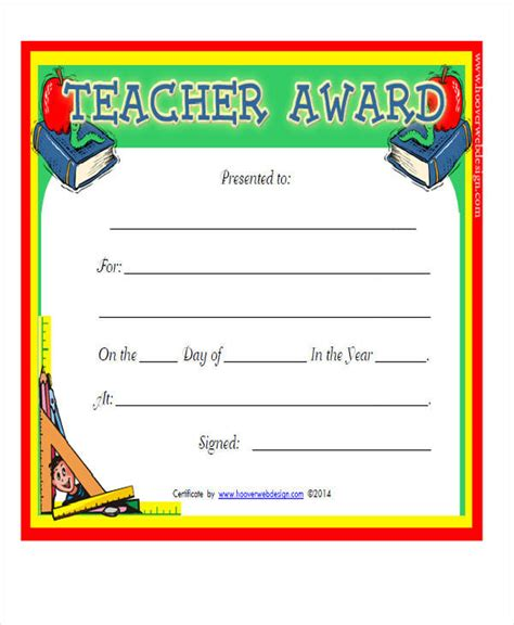 21 award certificates sles templates pdf doc