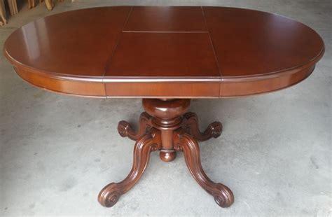 tavolo in faggio tavolo rotondo allungabile in legno di noce e faggio cm