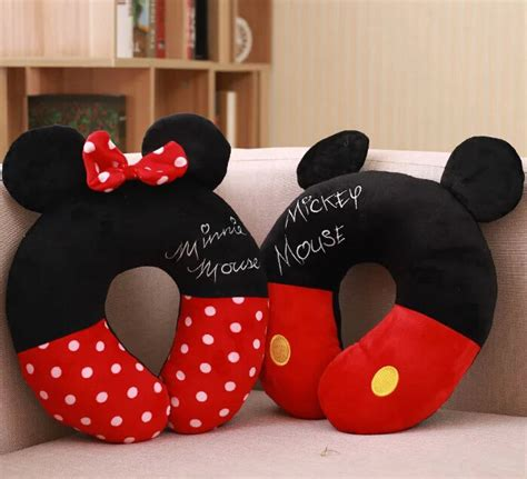 Bantal Leher Minnie Dan Mickey buy grosir minnie leher bantal mobil from china