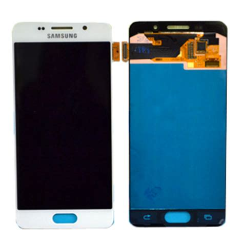 Lcd Samsung A3 A310 2016 Kaca Depan Digitizer Gorila Glass genuine samsung galaxy a3 2016 sm a310f complete display lcd with touchscreen in white samsung