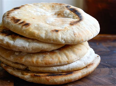 Handmade Pita - pita bread recipe serious eats