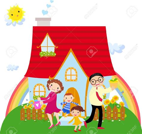 clipart casa home and family clipart clipartxtras