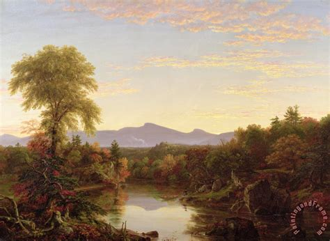 Landscape Paintings New York Cole Catskill Creek New York Painting Catskill