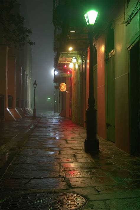 Photo 501 07 Pirates Alley From A Corner Of Cabildo Lights In New Orleans