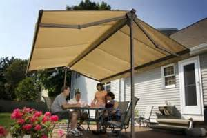 freestanding oasis awning sunsetter awnings by lanier