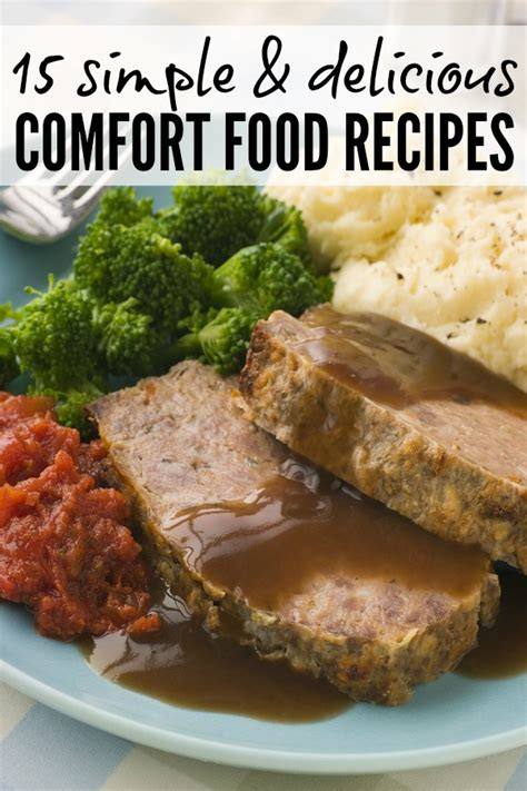 15 simple delicious comfort food recipes