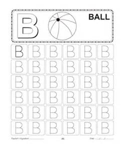 capital letter writing b printable coloring worksheet