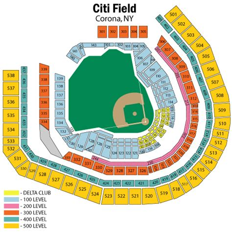 citi field seating diagram new york mets vs atlanta braves may 03 tickets corona