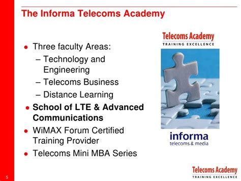 Telecoms Academy Mini Mba lte world summit 2012 tony wakefield informa t m