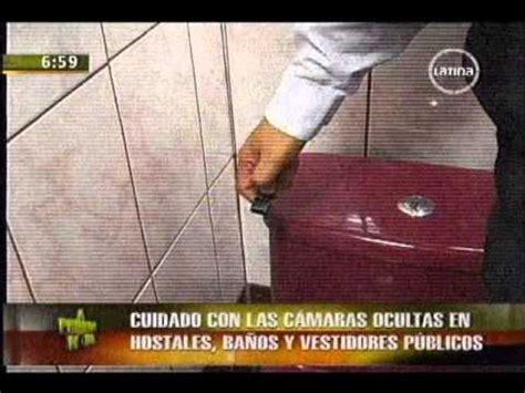 camaras ocultas en wc cuidado con las c 225 maras ocultas en hostales ba 241 os y
