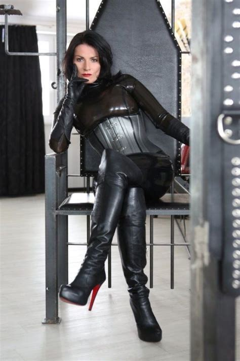 mistress cuts hair tube 35 best images about leather babes on pinterest posts