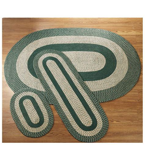 3 braided rug sets 3 reversible braided rug set out of stock stoneberry