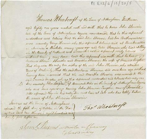 Visa Declaration Letter affidavit and statutory declaration the of