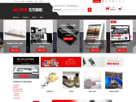 free wordpress bootstrap themes for all ecommerce sites