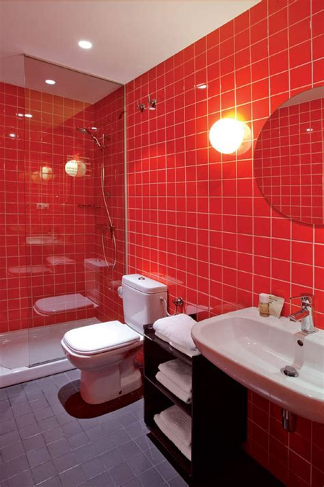 red wall bathroom 17 best ideas about red bathrooms on pinterest the grey girl