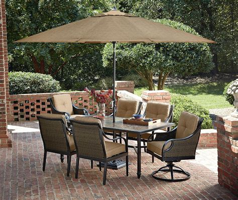 outdoor patio dining set la z boy outdoor 7 dining set limited