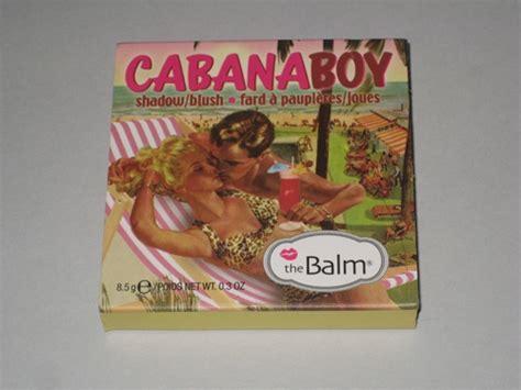 The Balm Balmbini Balm Of Your Boy Cabana Boy the balm cabana boy review musings of a muse
