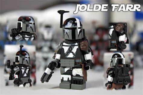 Custom Squad 4 custom lego wars mandalorian jolde farr here s