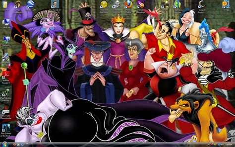 wallpaper disney villains disney villains wallpaper and screensavers wallpapersafari