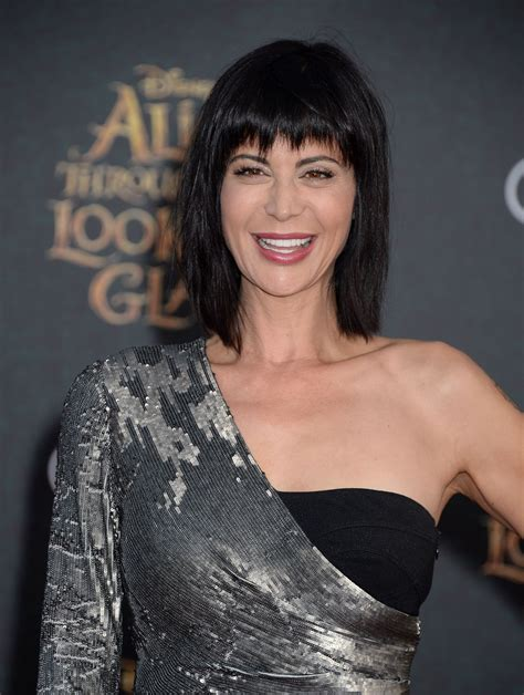 catherine bell catherine bell at through the looking glass premiere