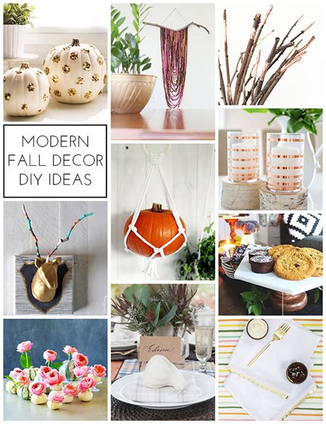 modern fall decor modern fall decor diy ideas homey oh my