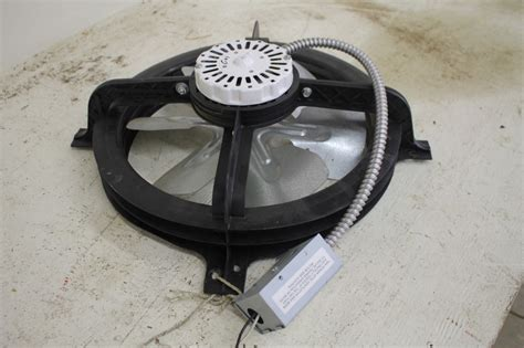attic exhaust fan thermostat attic 14 quot ventilation fan with thermostat