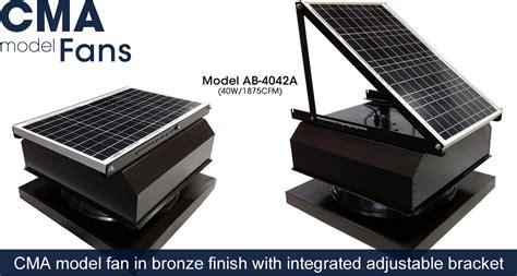solar breeze attic fan curb mount solar attic fans