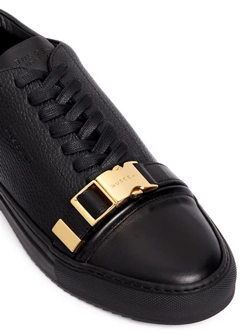 buscemi mens sneakers lyst buscemi 50mm leather low top sneakers in black for
