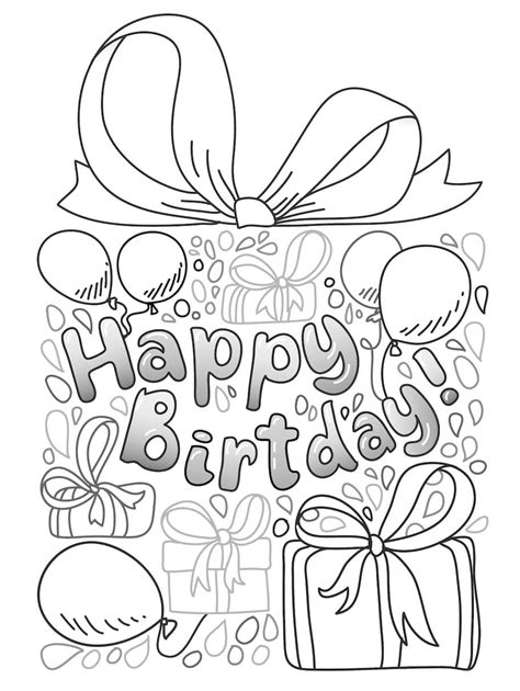 doodle for birthday birthday doodles doodle coloring pages