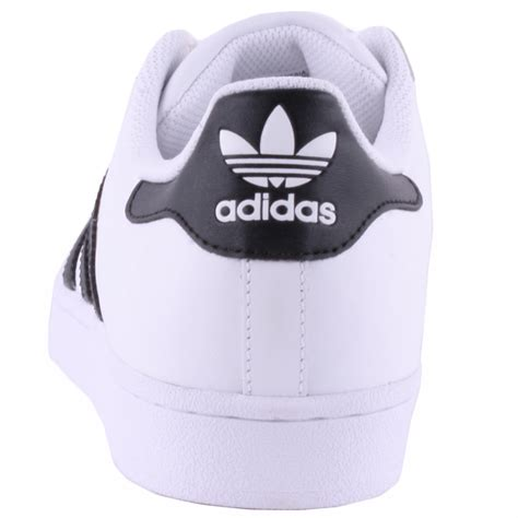 adidas superstar mens leather rubber white black trainers new shoes all sizes ebay