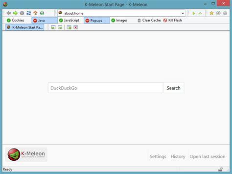 download gecko layout engine k meleon portable portableapps com portable software