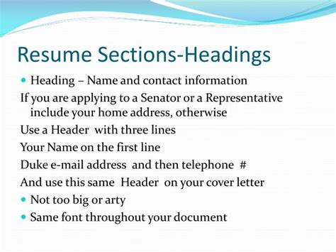 Resume Name And Address Ppt Resume Preparation Powerpoint Presentation Id 2611449